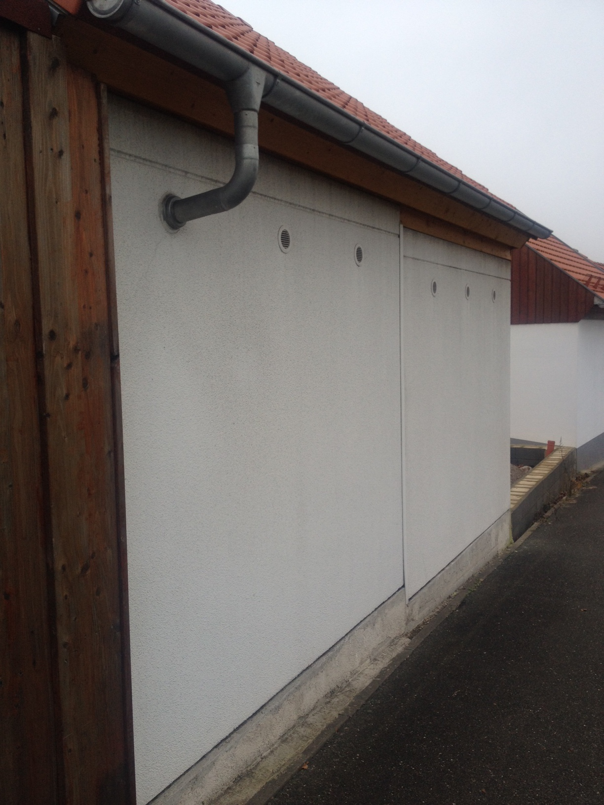 Garagengitter Kunststoff